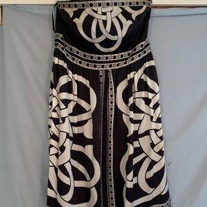 Silk White house black market dress